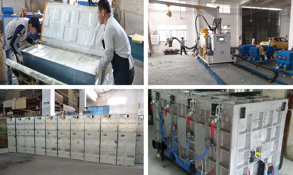 Guangdong disinfection cabinet cyclopentane foaming machine