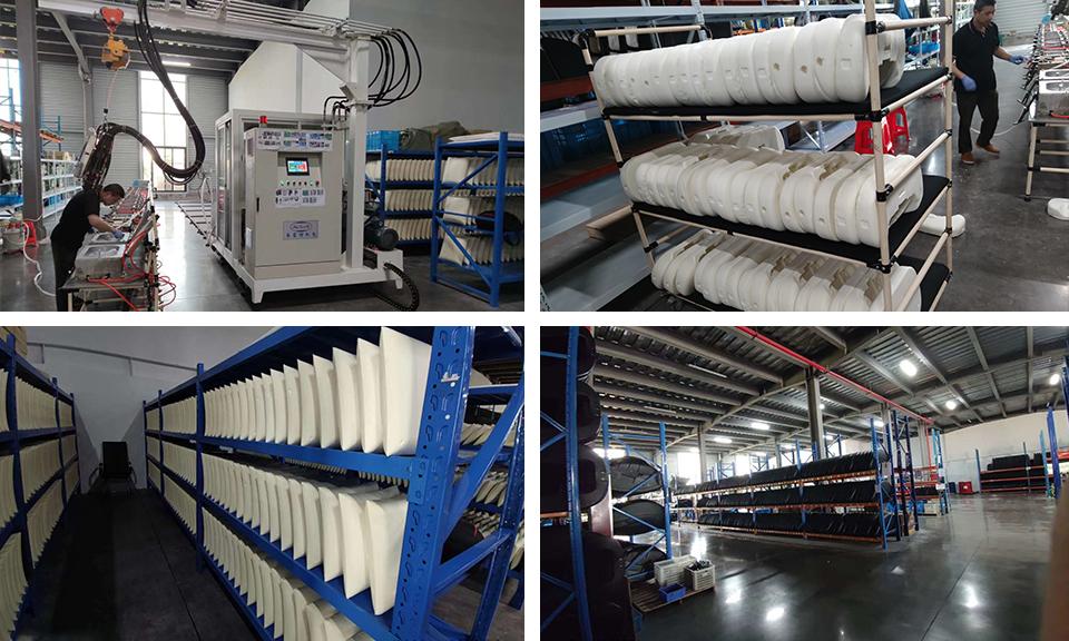 Zhejiang shared massage chair self-skinning polyurethane foaming machine