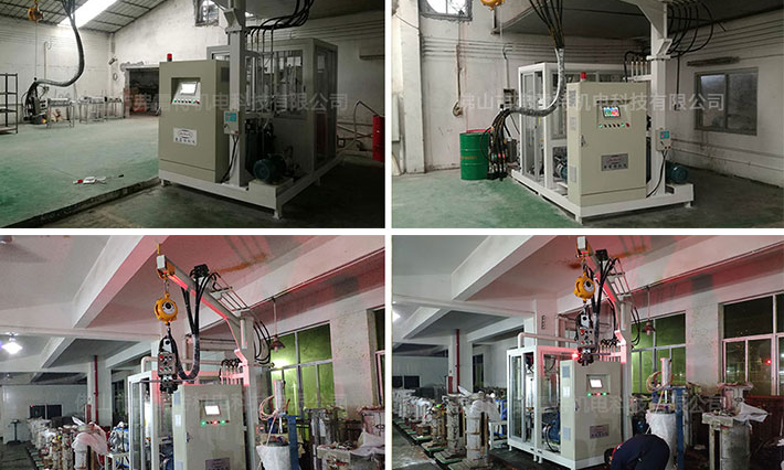 Water heater cyclopentane foaming machine