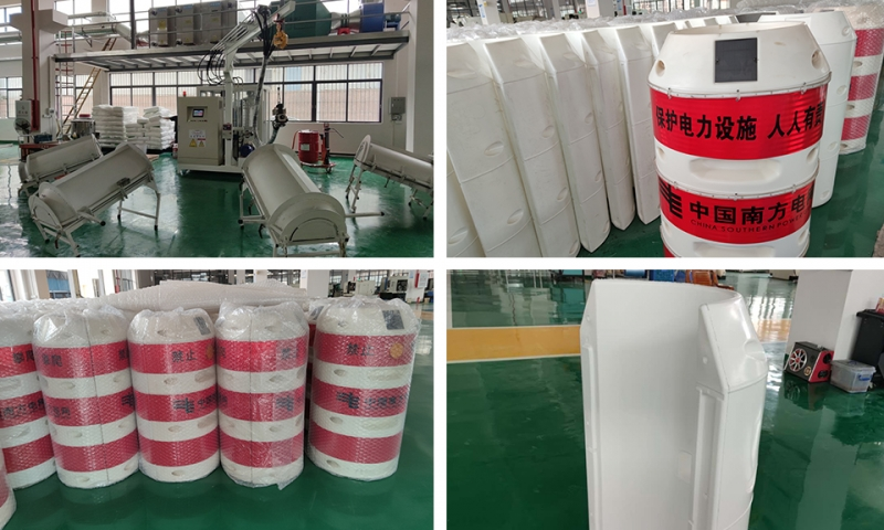 Zhongshan Electric Power collision proof barrel Polyurethane foaming Machine