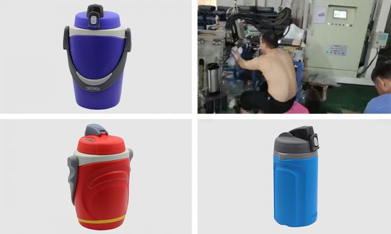 Zhuhai thermal insulation barrel cyclopentane high pressure foaming machine