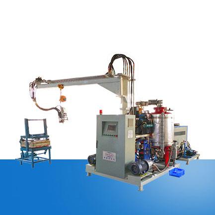 Soft foam seat high pressure foaming machine