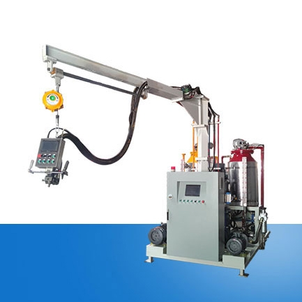 Polyurethane foaming machine for soft foam handicrafts