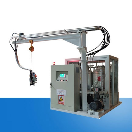 Sterilizer cyclopentane foaming Machine