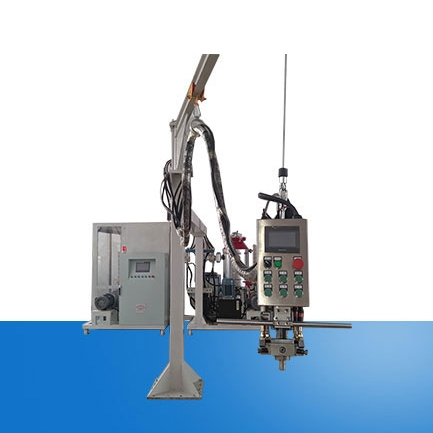 Double rack cyclopentane foaming machine