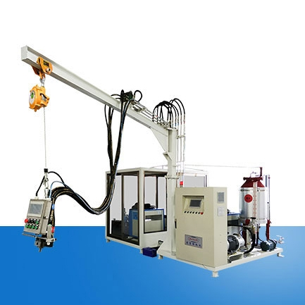 Double rack cyclopentane high pressure foaming machine