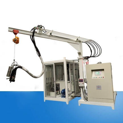 Incubator cyclopentane high pressure foaming machine equipment