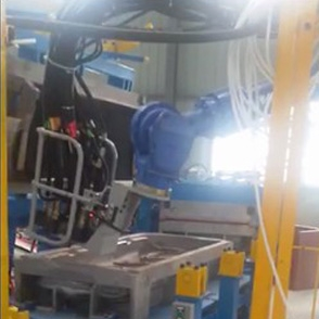 Automatic assembly line of automobile seat foaming equipment
