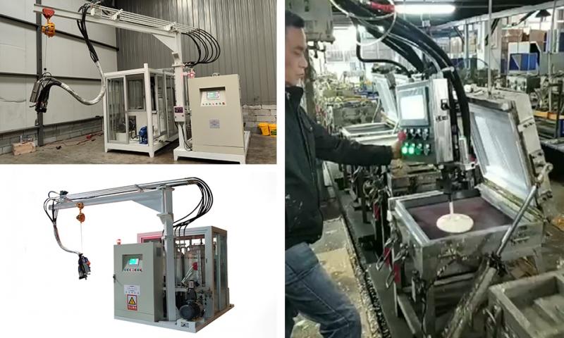 Guizhou refrigerator door cyclopentane foaming machine