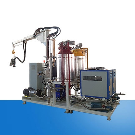 High pressure foaming machine for thermal insulation and filling