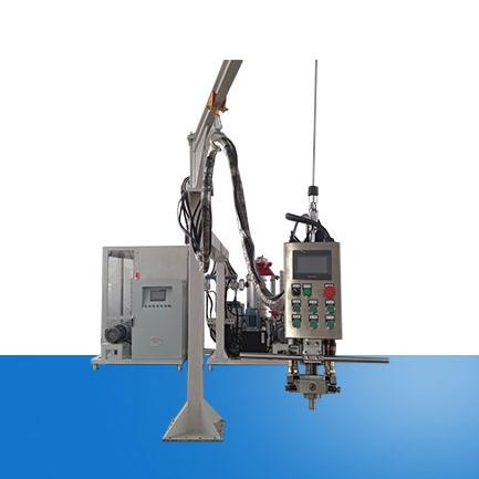 Double rack cyclopentane foaming machine