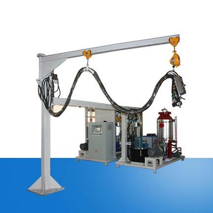 Double rack cyclopentane high pressure foaming machine