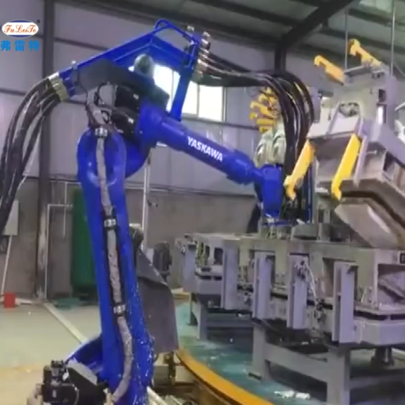 Robot seat foaming