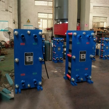 Plate heat and cold converter