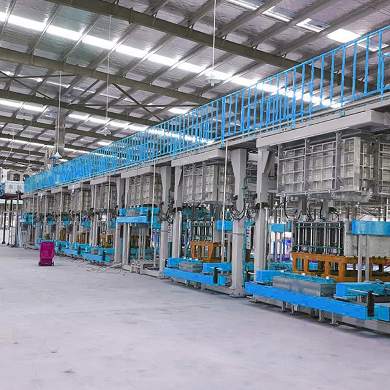 Production of refrigerator automatic foaming production line